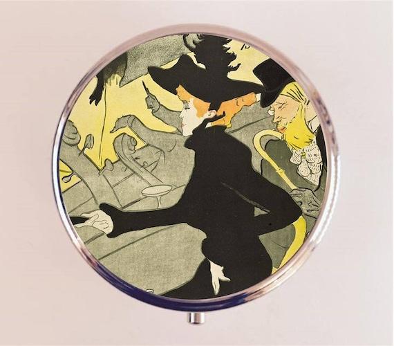 Henri De Toulouse Lautrec pilule boîte pilulier étui porte bijou Français Fine Art peinture