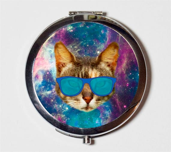 OuterSpace Chat Miroir Compact