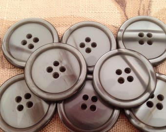 Buttons for sewing and knitting B46 19mm Pearl Buttons