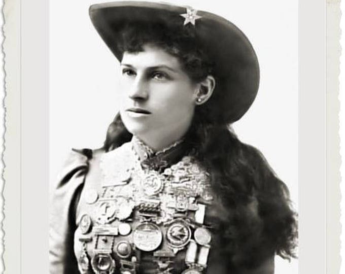 Annie Oakley Autographed