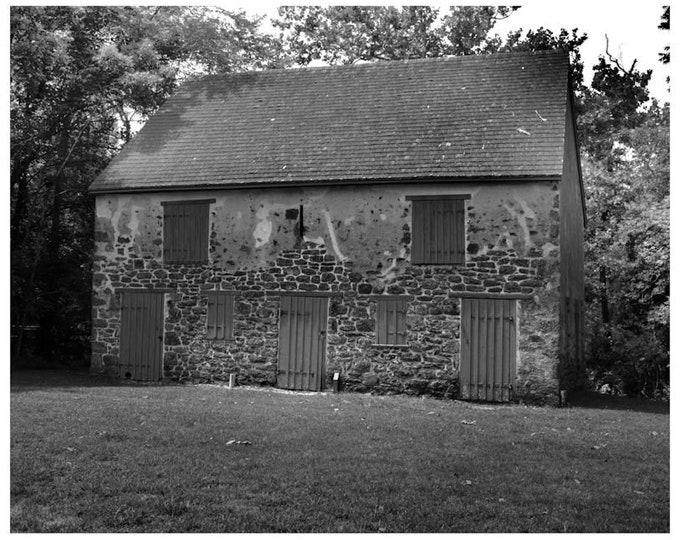 Batsto Stone Barn