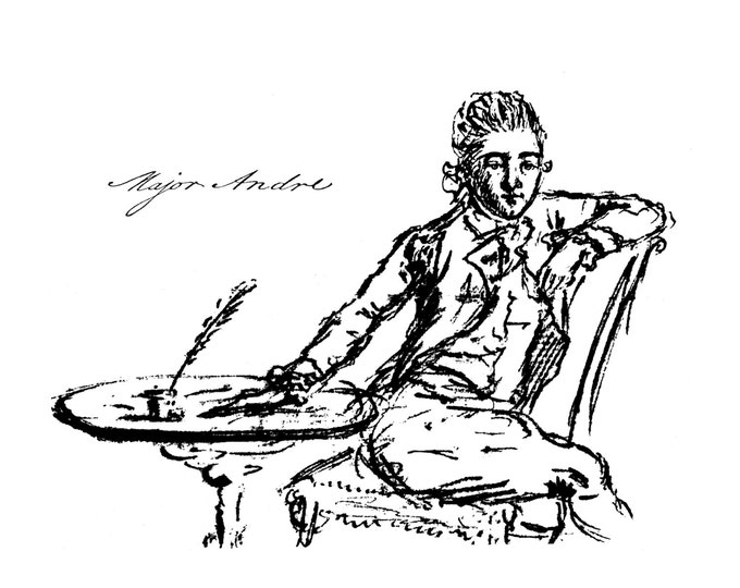 Major Andre Self-Portrait