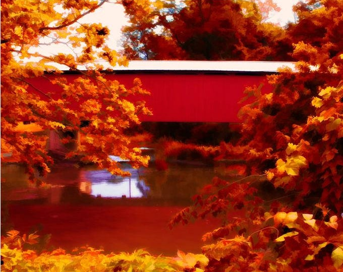Fall Covered Bridge
