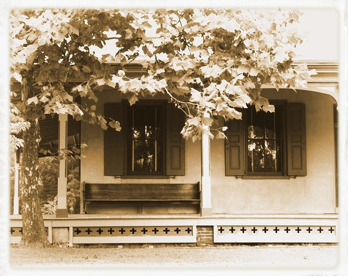 Batsto Mansion Porch