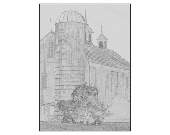 Barn Drawing