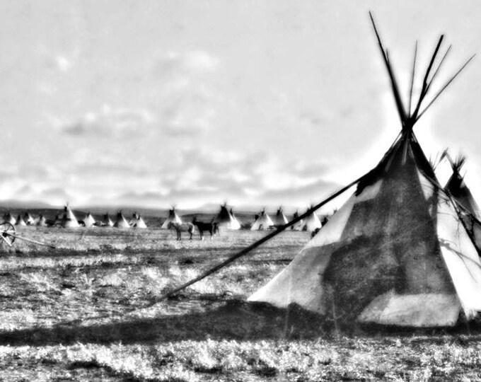 Piegan Camp