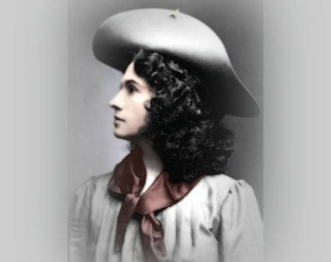 Annie Oakley Colorized