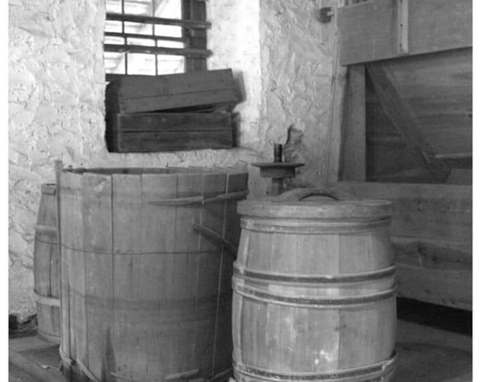 Batsto Grist Mill Interior