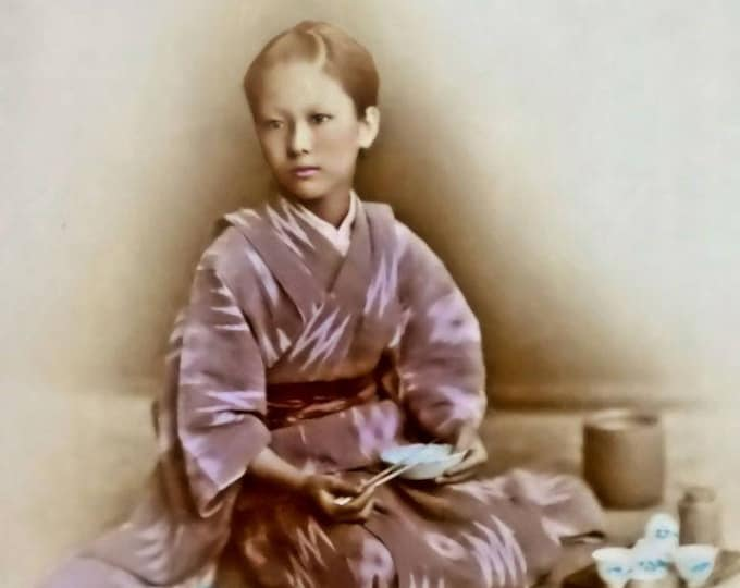 Young Woman At Mealtime
