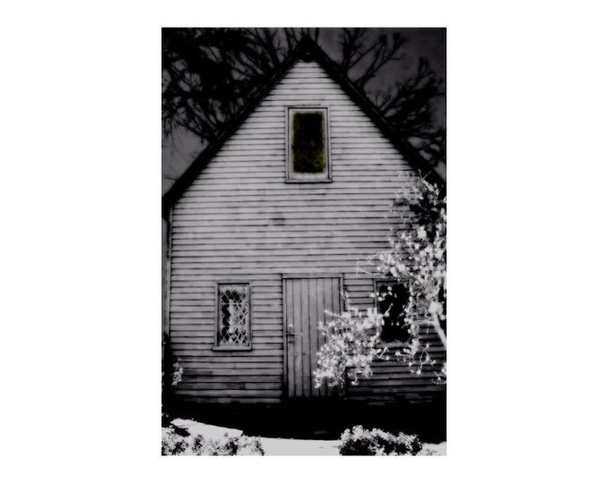 Salem House in Black and White