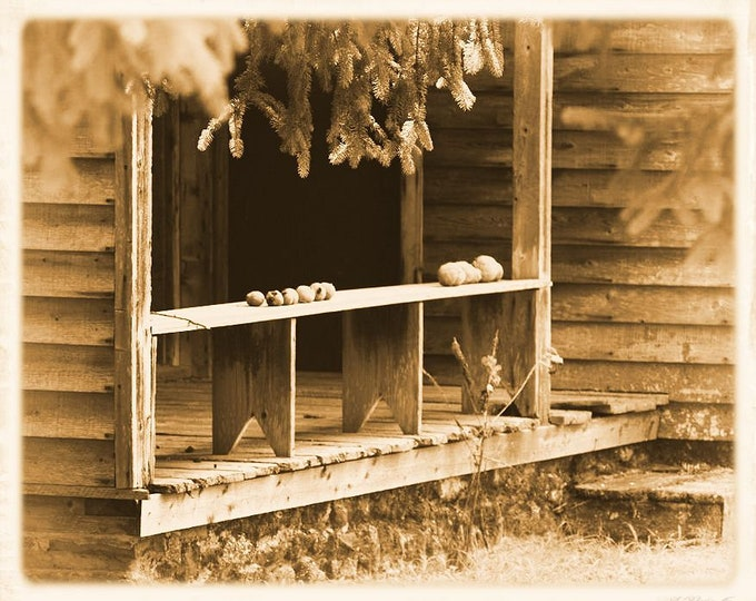 Batsto Rear Porch