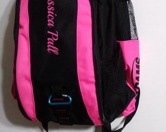 Personalized Embroidered Bat Bag Softball Baseball  Monogram Sport bag bats Bat  Backpack bag 6bf26d5f02