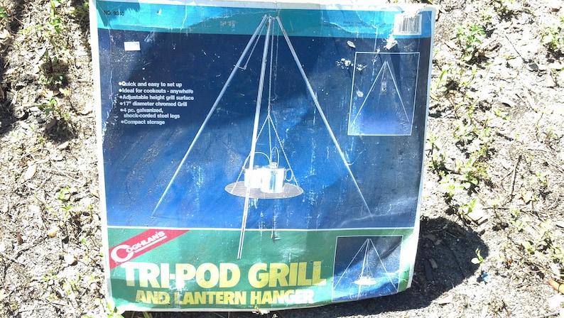 Vintage Camping Tri-Pod Grill