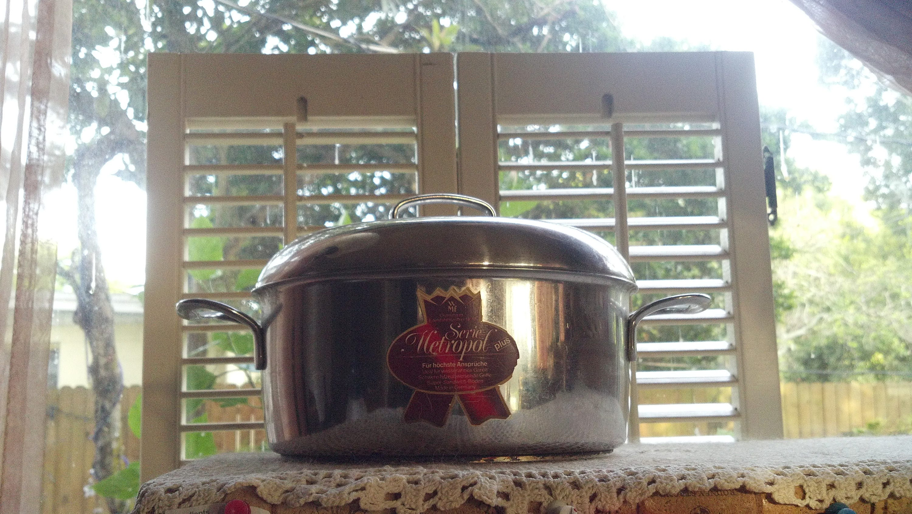 Vintage Stainless Steel Sandwich Boden Pot Made In Germany Etsy