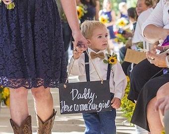 Burlap Bow Tie Suspender Set Rustic Wedding Ring Bearer Outfit Etsy