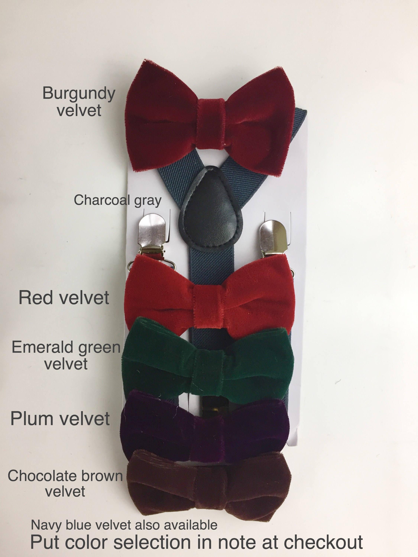 Burgundy Bowtie Velvet Mens bow tie Rustic Wedding set   Etsy