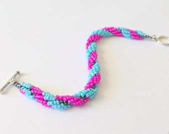 Spiral Stitch Tutorial Package - 4 projects in one tutorial - spiral stitch, double spiral, flat spiral and V-necklace spiral