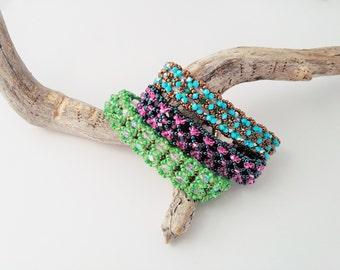 Burlesque Bracelet Tutorial