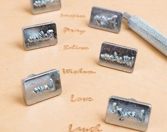 Inspirational Word Stamps Set #1