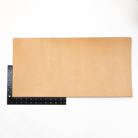 Pre-Cut Vegetable Tanned Tooling Leather with Snaps Neckerchief Slide