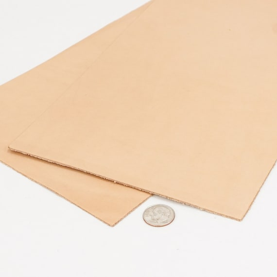 Springfield Leather Company 12x24 Pre-Cut Hermann Oak Vegetable Tan Cowhide Leather Tooling Pieces 2//3oz