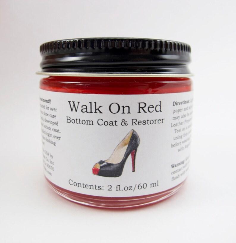 8f8f2784c6f41 Angelus, Walk On Red, Bottom Coat & Restorer, 2oz, Brighten Your Best Shoes  Back to Normal.