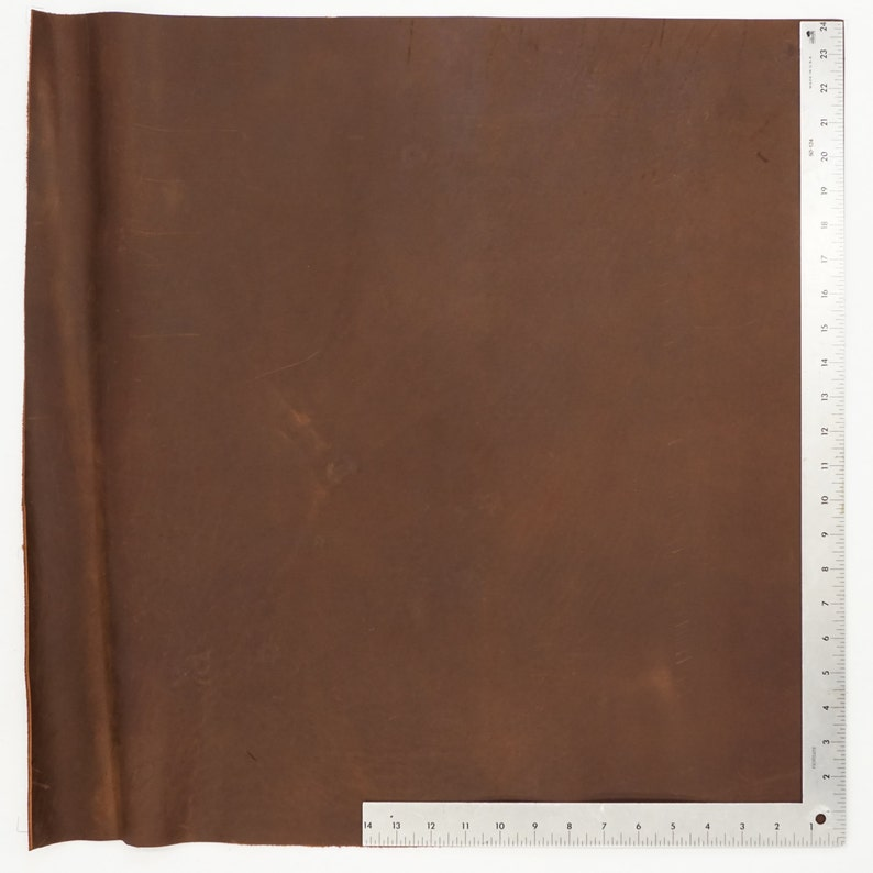 Covers Straps 12x 12 Dakota Mahogany Oil Tan Pre-Cut 24x 24 Leather Crafts 12x 24 6x 12 Perfect for Wallets