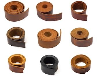 "Oil Tan Leather Strap, 64"""