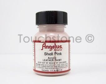 Shell Pink Angelus Acrylic Leather Paint 1oz