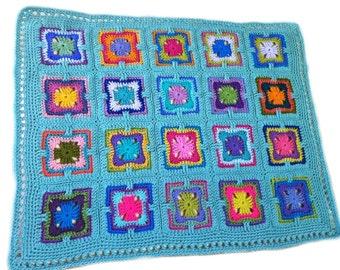 Häkeln Baby Decke Häkeln Baby Afghan Art Déco Oma Viereck Etsy
