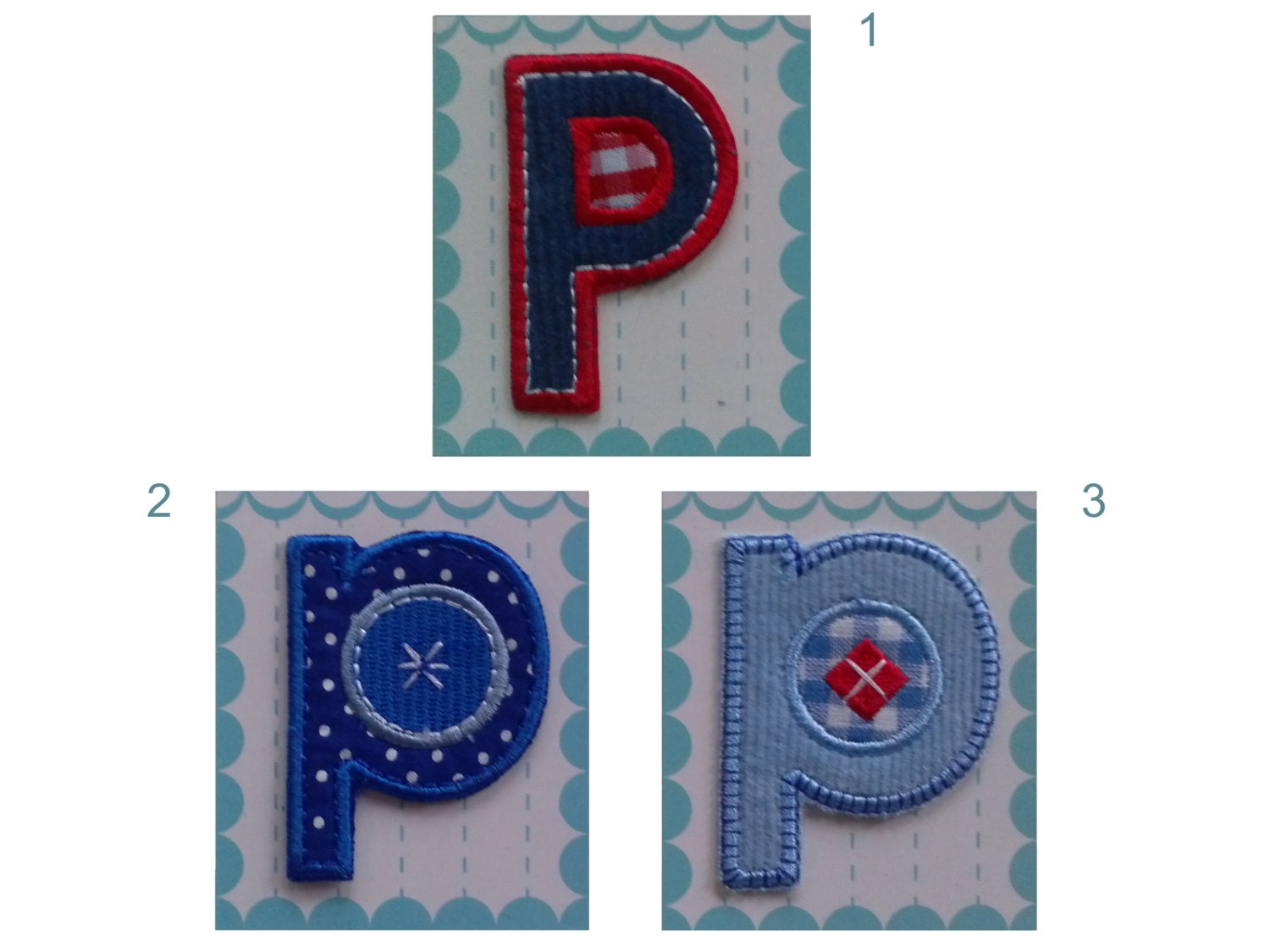 letter applique iron on fabric letters iron on applique patch letter pp 5 50 cm etsy 8204