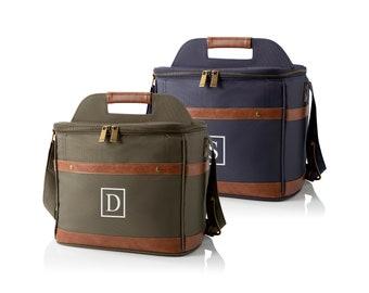 12-Pack Groomsmen Cooler, Personalized Groomsmen Gifts, Custom Cooler Bag, Best Man Gift, Birthday Gift, Blue or Green, Bridesmaid Cooler