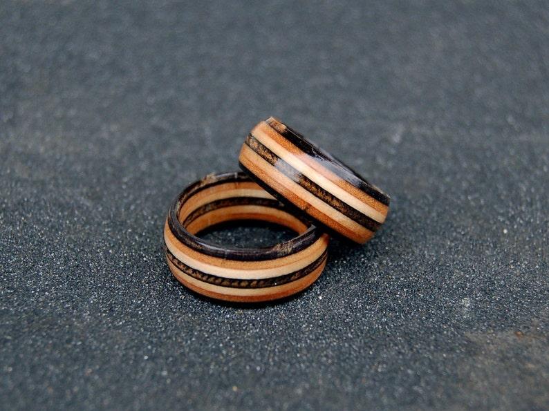 Black natural recycled skateboard rings  0e0beb1d801