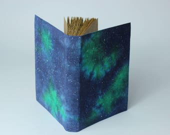 Galaxy  - handmade journal, diary, notebook, stars, cosmos, universe
