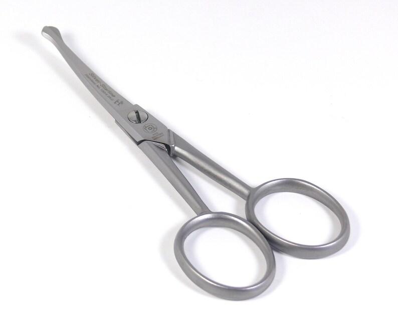 """Kretzer Finny 65409 3.5/"""" 9cm Weaver/'s Scissors Fly-fishing Nail Curved"""