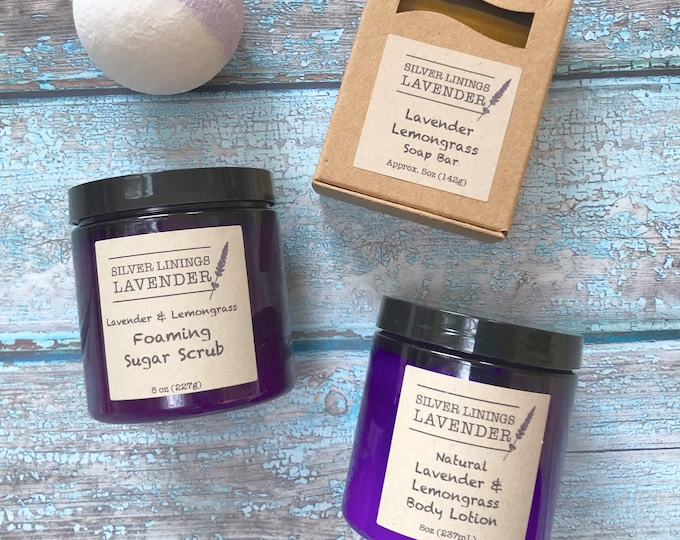Lavender Lemongrass Gift Set
