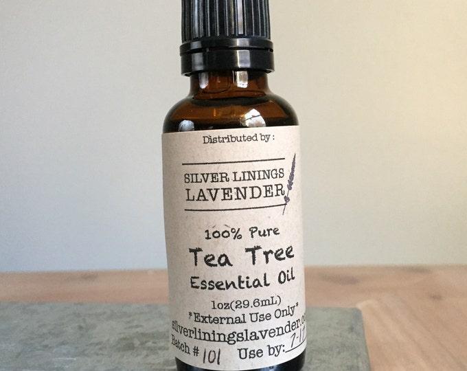 Tea Tree (Melaleuca) Essential Oil