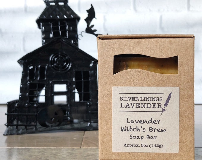 Lavender Witch's Brew Soap Bar
