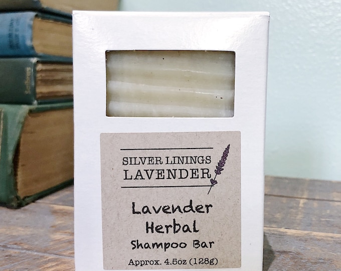 Lavender Herbal Shampoo Bar