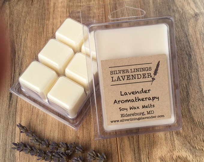 Lavender Aromatherapy Natural Wax Melts