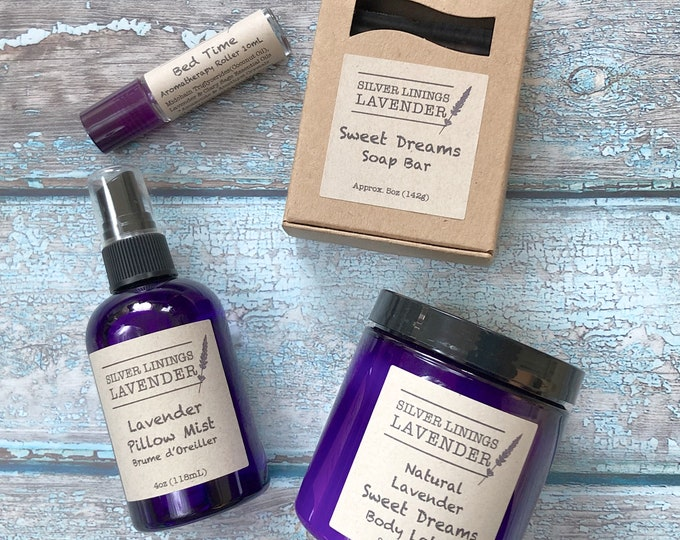 Lavender Aromatherapy Sleep Set