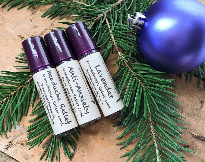 Lavender Aromatherapy Roller Gift Set