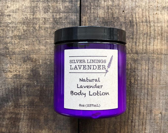 Natural Lavender Body Lotion
