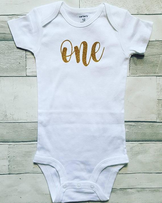 First Birthday ONE Onesie Or Shirt