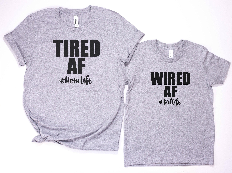 MomLife KidLife Matching Shirts