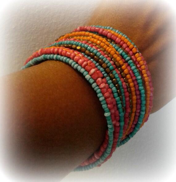 Rainbow Cuff Bracelet - image 3