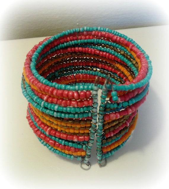 Rainbow Cuff Bracelet - image 2