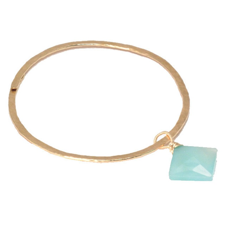 Bracelet 27 Bangle Bracelet with removable charm.