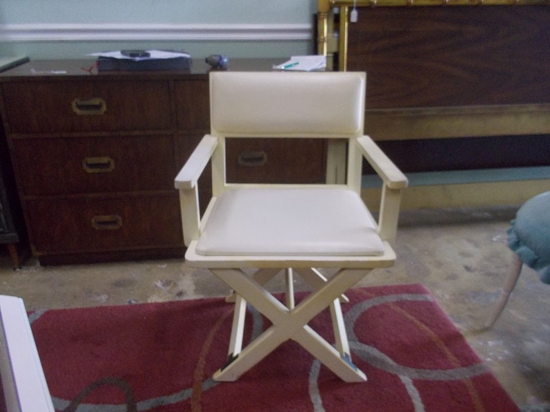 Campaign Style Desk Chair