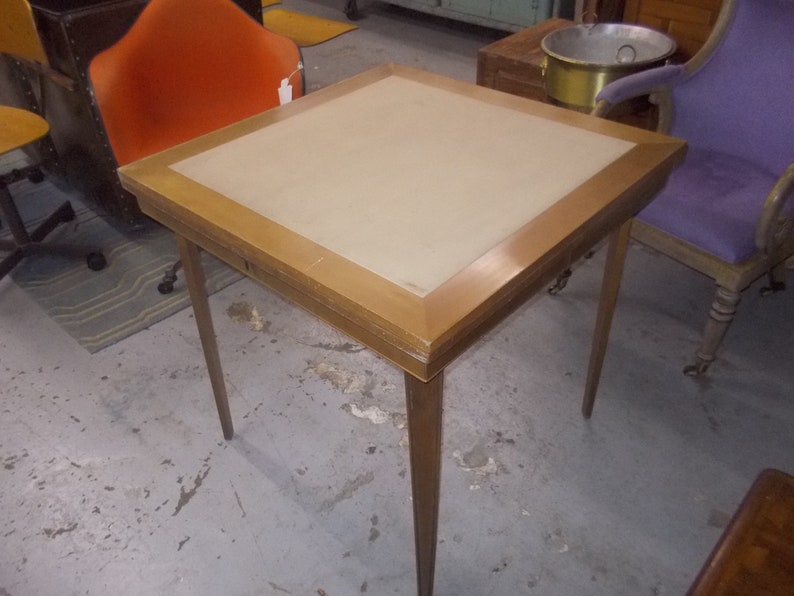 Stakmore Vintage Wooden Folding Double Card Table Free Shipping